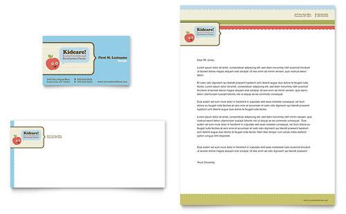 School Letterhead Templates Card Letterhead Template