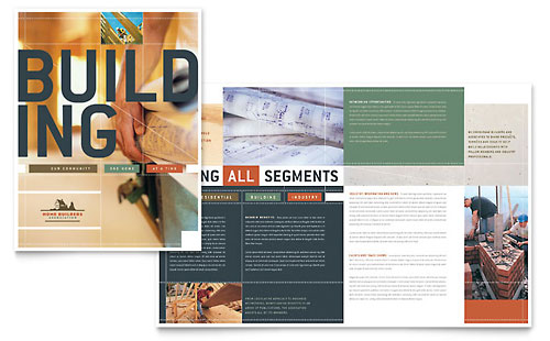 Home Builders & Construction Brochure Template