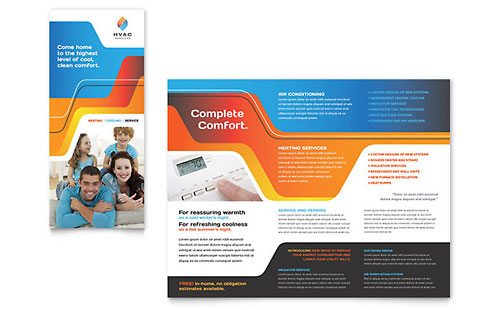 HVAC - Brochure Template
