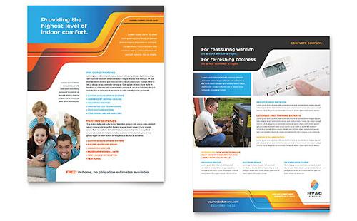 HVAC Sales Sheet Template