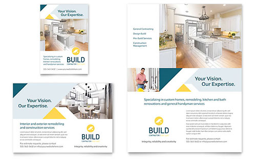 Contractor Flyer & Ad Template
