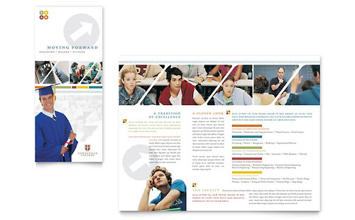College & University Brochure Template
