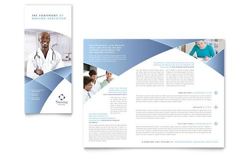 Education & Training | Tri Fold Brochure Templates