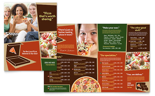 Pizza Pizzeria Restaurant - Menu Template