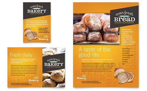 Artisan Bakery Flyer & Ad Template