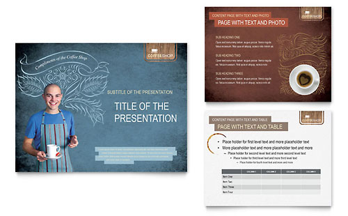 Coffee Shop PowerPoint Presentation Template