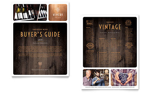 Winery - Datasheet Template