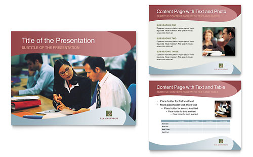 Tax Accounting Services PowerPoint Presentation Template