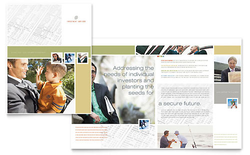 Investment Advisor Brochure Template
