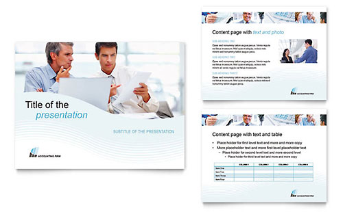 Accounting Firm PowerPoint Presentation Template