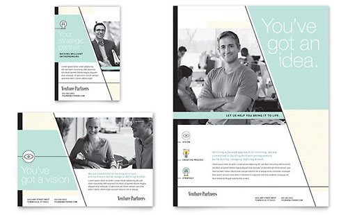Venture Capital Firm Flyer & Ad Template