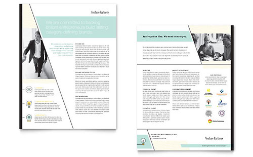 Business Consulting Sales Sheet Templates – Sales Sheet Template