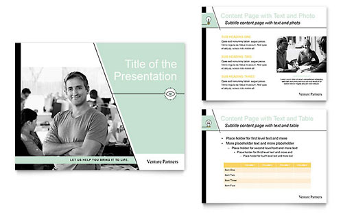 Venture Capital Firm - PowerPoint Presentation Template