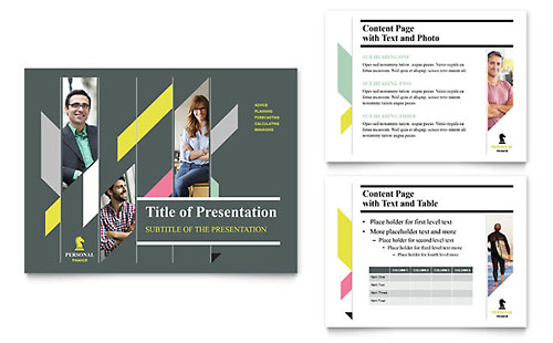 Personal Finance PowerPoint Presentation Template