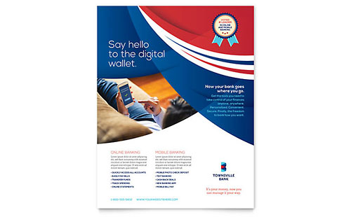 Bank Leaflet Template