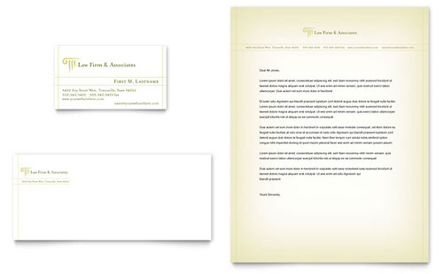 Law firm letterhead templates legal services for Law office letterhead template free