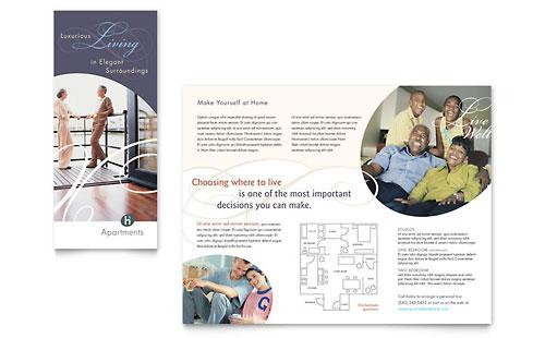 Apartment & Condominium Brochure Template