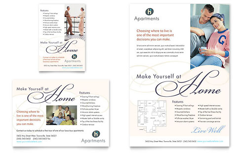 Apartment & Condominium Flyer & Ad Template