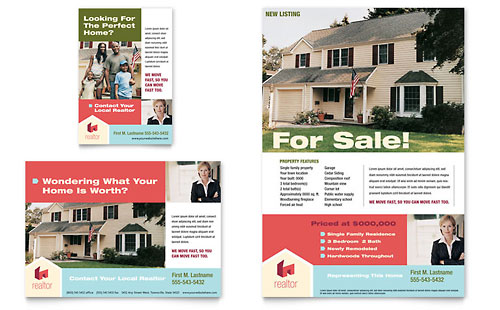 Real Estate Print Ads – For Sale Ad Template