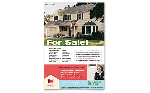 Home Real Estate Flyer Template