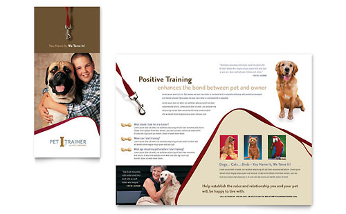 Free tri fold brochure template sample brochures for Training brochure template