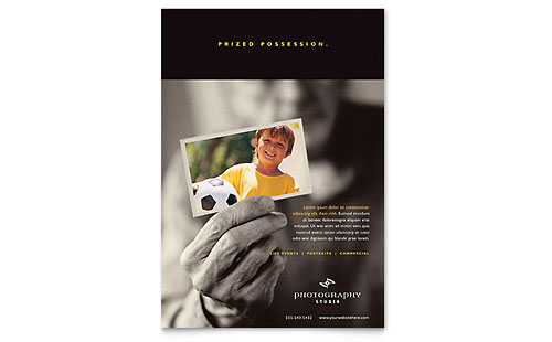 Photography Studio Flyer Template