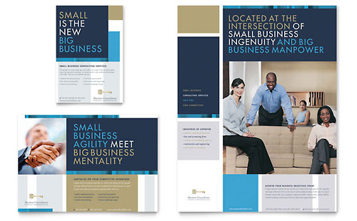 Small Business Consulting - Flyer & Ad Template