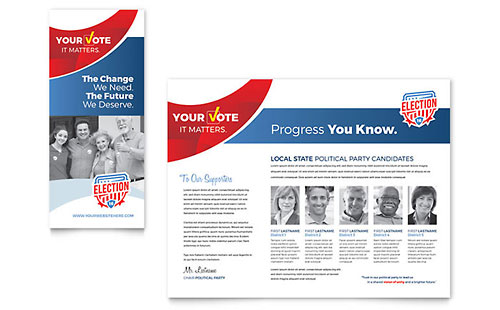 Election - Brochure Template