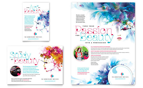 Cosmetology Flyer & Ad Template