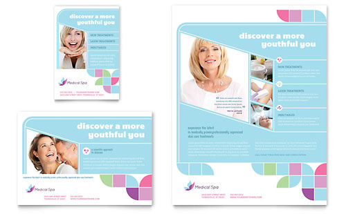 Medical Spa Flyer & Ad Template