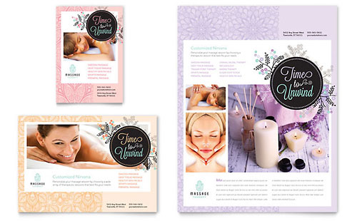 Massage - Flyer & Ad Template