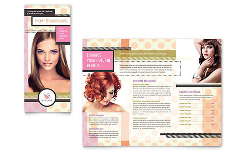 Hairstylist - Brochure Template