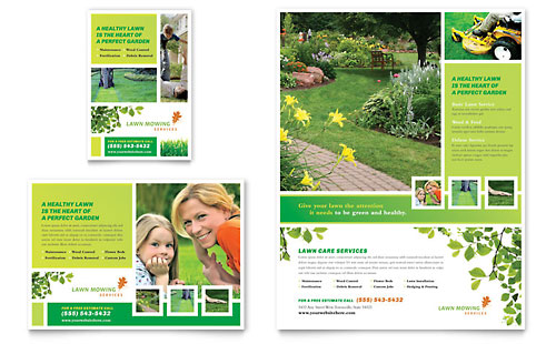 Gardening Lawn Care Flyer Templates – Flyer Samples