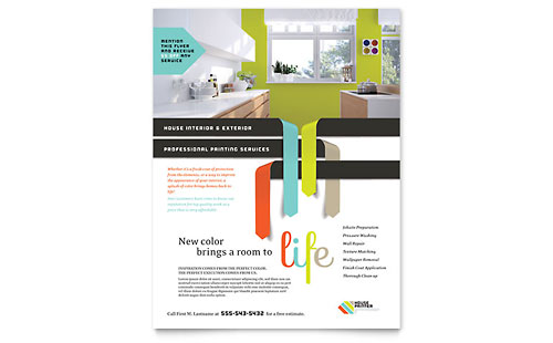 House Painter - Flyer Template
