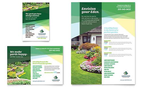 Landscaper - Flyer & Ad Template