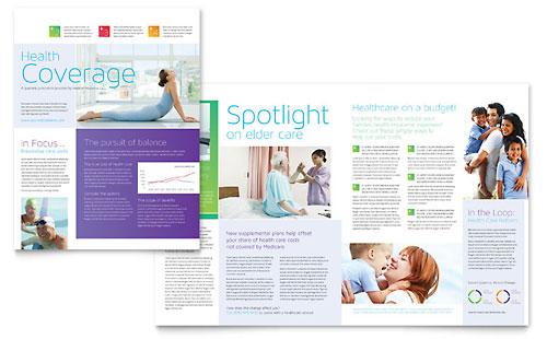 Medical Insurance Newsletter Template