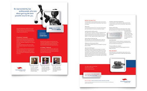 Justice Legal Services Datasheet Template