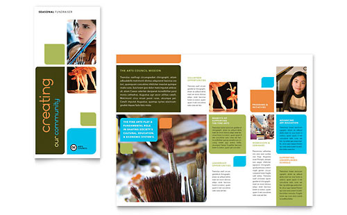 Education training brochures templates designs for Educational brochure templates