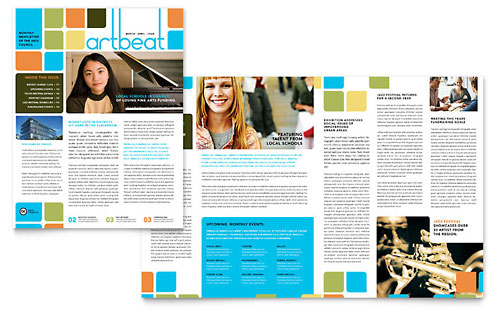 Arts Council & Education Newsletter Template