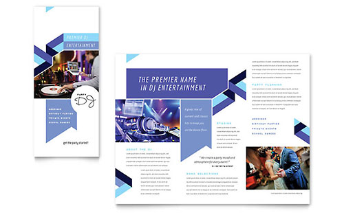 DJ Brochure Template