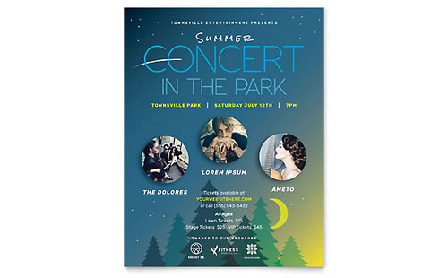 Summer Concert - Flyer Template