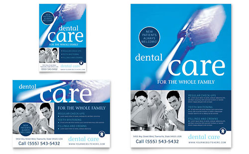 Dentist Office Flyer & Ad Template