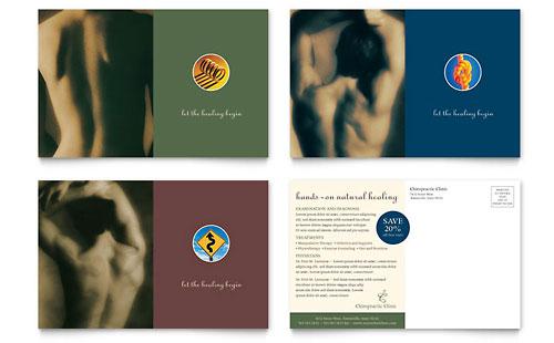 Chiropractor Postcard Template
