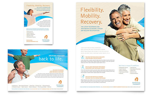 Physical Therapist Flyer & Ad Template