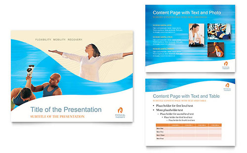 Physical Therapist PowerPoint Presentation Template