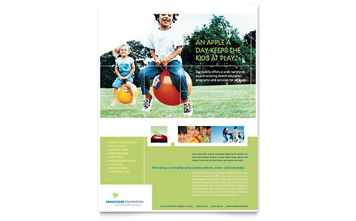Healthcare Management - Flyer Template