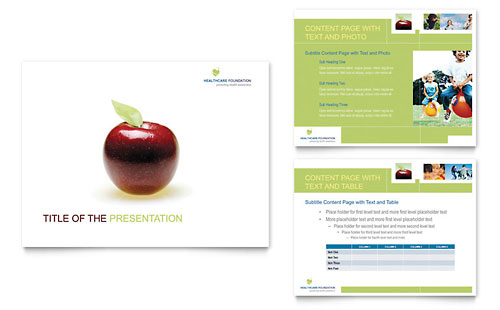 Healthcare Management PowerPoint Presentation Template