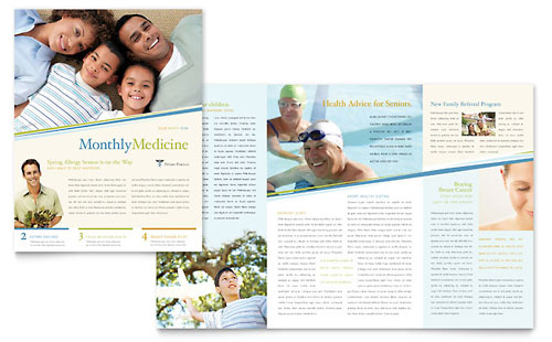 Family Physician Newsletter Template