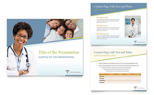 Family Physician PowerPoint Presentation Template