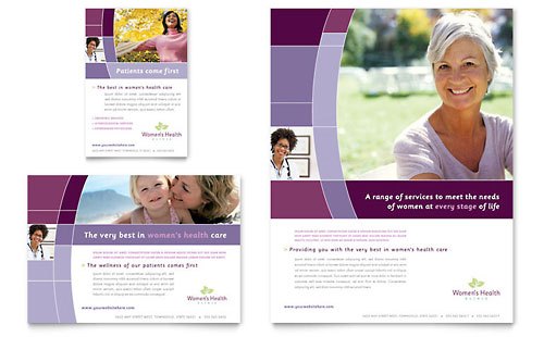 Women's Health Clinic Flyer & Ad Template